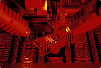 machine shop makes parts for microchip and other electronics manufacturing